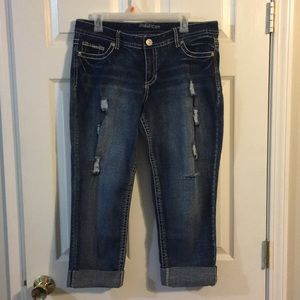 Maurices crop jeans size 11/12
